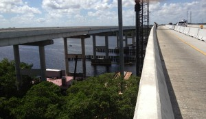 Caloosahatchee Bridge - Ft Myers FL Ken wrote Mass Concrete Plan; designed cooling pipe system to control temperatures due to massive dimensions; monitored temps.